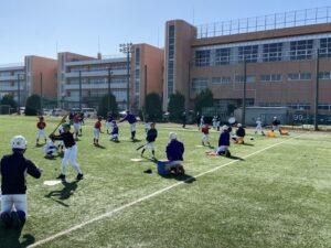 2021 東京学館野球部 野球教室