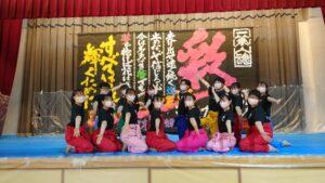 「学生書道のグランプリ」で全国団体9位入賞!個人でも最高賞受賞!