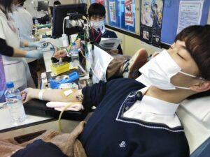 卒業記念献血